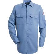 EXCEL FR® ComforTouch® Flame Resistant Work Shirt SLW2, Light Blue, 7 oz., Size 3XL Long
