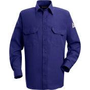 Nomex® IIIA Flame Resistant Uniform Shirt SND2, Royal Blue, 4.5 oz., Size M Regular