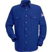Nomex® IIIA Flame Resistant Snap-Front Uniform Shirt SNS2, Royal Blue, 4.5 oz, Size XL Regular