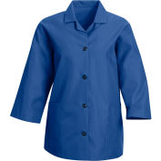 Red Kap® Women's Smock 3/4 Sleeve Royal Blue Regular-XL - TP31