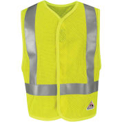 Hi-Visibility Flame Resistant Mesh Safety Vest VMV8, ANSI Class 2, Yellow/Green, Size 2XL/3XL