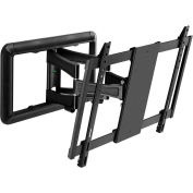 Extra Medium Low Flat Panel Profile Articulating Mount - Black