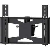 Medium Flat Panel Ceiling Mount Head Only - Black