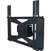 Dual Medium Flat Panel Ceiling Mount Adaptor - Black