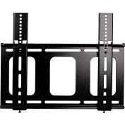 Medium Flat Panel Flush Mount - Black