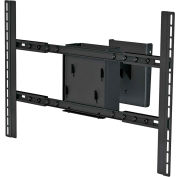 Dual Large Flat Panel Ceiling Mount Adaptor - Black