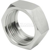 "VNE 3A Series 2-1/2"" Hex Nut, T304 Stainless"