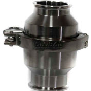 """Spring Check Valve Clamp T316 EPDM Seat 4"""""""
