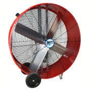 """MaxxAir™ 36"""" Belt Drive Heavy Duty Portable Barrel Fan BF36BD RED 10200 CFM"""
