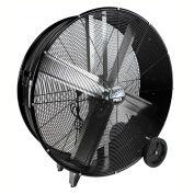 "MaxxAir™ Pro Series 42"" Belt Drive Portable Barrel Fan, 13300 CFM, Black, BF42BDBLKPRO"