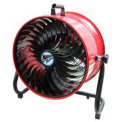 """MaxxAir™ 16"""" Turbo Tilt Floor Fan HVFF16TRED 3000 CFM, 120V"""