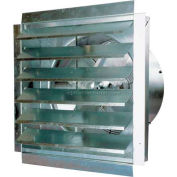 """MaxxAir™ 18"""" Heavy Duty Exhaust Fan With Integrated Shutter IF18 3000 CFM"""