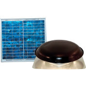 Ventamatic® VX1000SOLBLKUPS Solar Power Attic Ventilator, Black