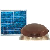 Ventamatic® VX1000SOLBRNUPS Solar Power Attic Ventilator, Brown