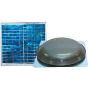 Ventamatic® VX1000SOLWGUPS Solar Power Attic Ventilator, Weathered Grey