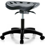 ESD Tractor Sit-Stand Stool - Polyurethane - Black