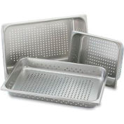 "Half Size Perforated Pan 4"" - Pkg Qty 6"