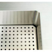 """Signature Server® - Perforated False Bottom for 74"""" Cold Food Station"""