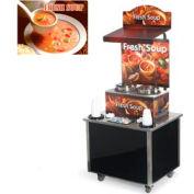 Cayenne® - Twin Well 7 Qt. Soup Merchandisers - Kiosks Seaside