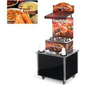 Cayenne® - Twin Well 7 Qt. Soup Merchandisers - Kiosks Homestyle