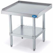 "Vollrath, Equipment Stand With Bottom Shelf, 40742, Stainless Steel Top, 48"" X 24"" X 26"""