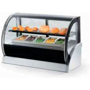 """Vollrath, Display Cabinet, 40852, 36"""" Curved Glass, Refrigerated"""