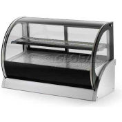 """Vollrath, Display Cabinet, 40856, 48"""" Curved Glass, Heated"""