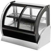 """Vollrath, Display Case, 40886, 36"""" Cubed Glass, Refrigerated"""