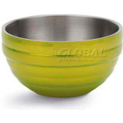 Vollrath, Double-Wall Insulated Serving Bowl, 4656930, 10.1 Quart, Lemon Lime