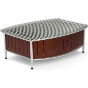 """Vollrath, Large Buffet Station With Wire Grill, 4667570, Brown, 21"""" X 16"""" X 7-1/2"""""""