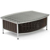 "Vollrath, Large Buffet Station With Wire Grill, 4667575, Black, 21"" X 16"" X 7-1/2"""