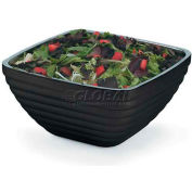 Vollrath, Square Insulated Serving Bowls, 4763460, 3.2 Quart, Black Black - Pkg Qty 6