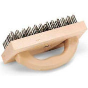"Vollrath, Butcher Block Brush, 483-0, 9"" X 4"""