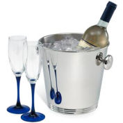 Silver Plate Wine Bucket with Handles