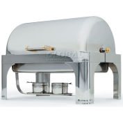 New York, New York® Silver Plate Oblong Roll Top Chafer