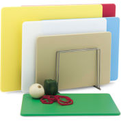 "12x18x1/2"" White Cutting Board - Pkg Qty 6"
