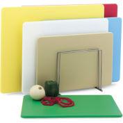 "12x18x1/2"" Green Cutting Board - Pkg Qty 6"