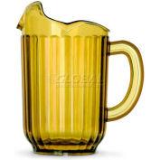 Vollrath, Traex Tuffex Beverage Pitchers, 6010-16, 60 Oz., Amber - Pkg Qty 12