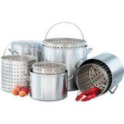 Steamer Basket/40 Qt Stock Pot