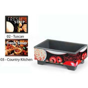 Vollrath® 72020003, Full-Size Soup Merchandiser Base W/ Country Graphic, 120 Volt