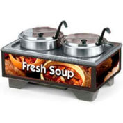 Vollrath® 720202003, Full-Size Soup Merchandiser, 120 Volt