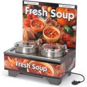 "Vollrath, Full-Size Soup Merchandiser, 720202103, 18-1/2"" X 26-1/4"" X 25-1/2"""