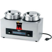 Cayenne® - Twin Well 4 Qt. Rethermalizer with Package