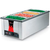 Cayenne® Heat 'N Serve 4/3 Rectangular Rethermalizer - Without Drain