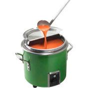 Vollrath, Retro Stock Pot Kettle Rethermalizer, 7217235, 11 Quart, Green Apple Finish