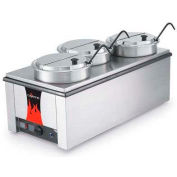 Vollrath, Cayenne Model T43R Heat 'N Serve. 4/3 Rethermalizer, 72788, W/ Accessory Kit, 1600 Watt