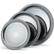 Vollrath® Silverplate Elegant Reflections™. Round Tray - 15-1/4""