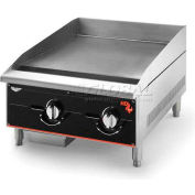 "Vollrath, Cayenne 24"" Heavy Duty Gas Griddle, 924GGM, 2 Burners, 60000 BTU"