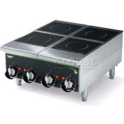 "Vollrath, Cayenne Heavy-Duty Induction Hot Plate, 924HIMC, Four-Hob Manual, 24"" X 13-5/8"" X 30"""