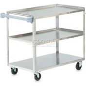Vollrath, Extra Heavy Duty Utility Cart, 97140, Stainless Steel, 500 Lb. Capacity